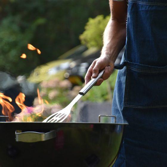 גריל גז עבור מטבח גינה